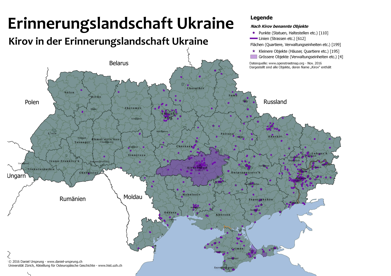 Erinnerungslandschaft Ukraine Karten Zum Historischen Gedachtnis