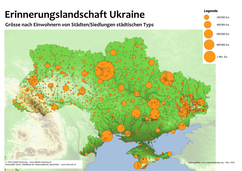 Die größten städte der ukraine