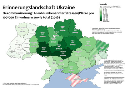 Erinnerungslandschaft Ukraine: Karten zum historischen ...